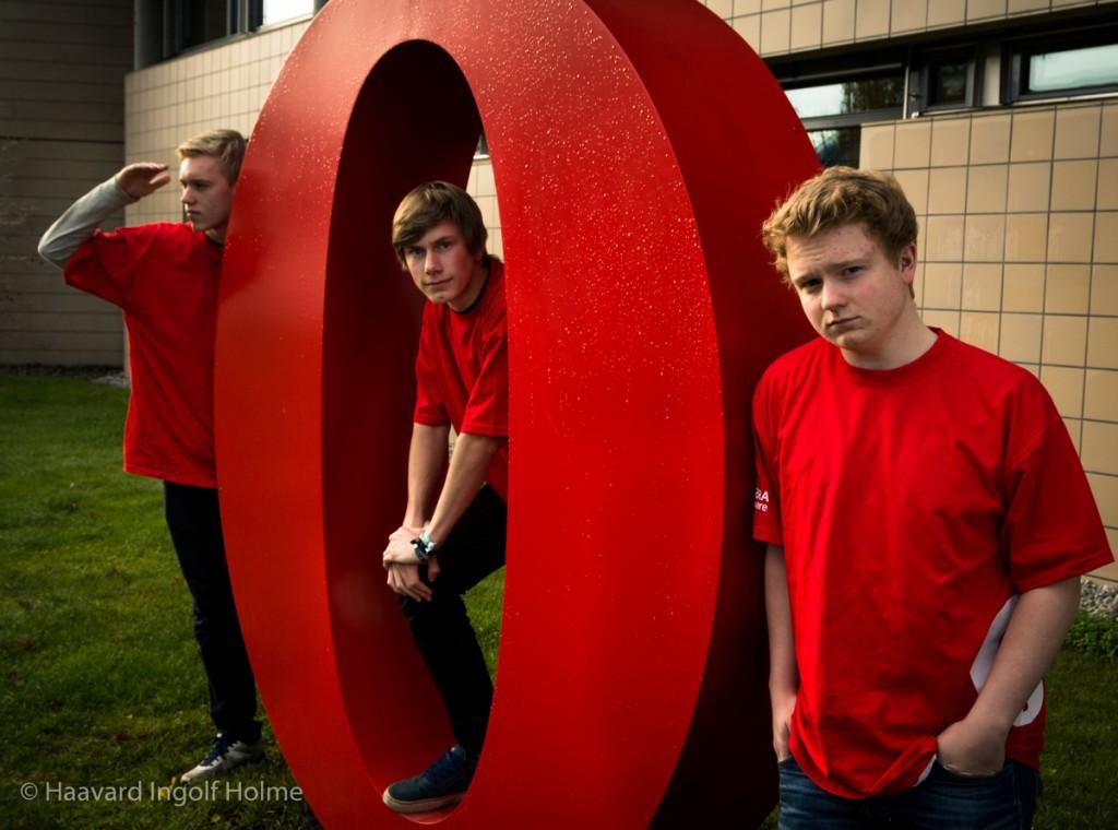 Stian, Nicolas, and Jonathan