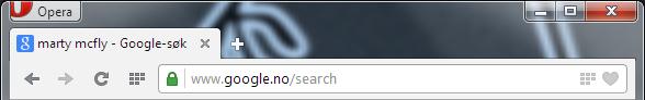 Opera 21 Default URL