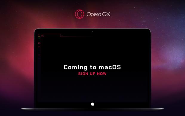 Opera GX coming to MacOS