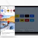 Opera has built-in Instagram