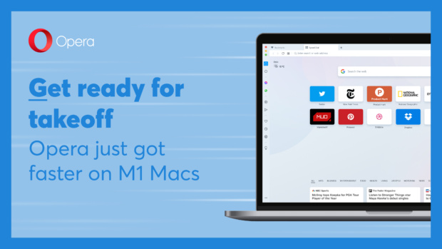 Opera M1 support for Mac