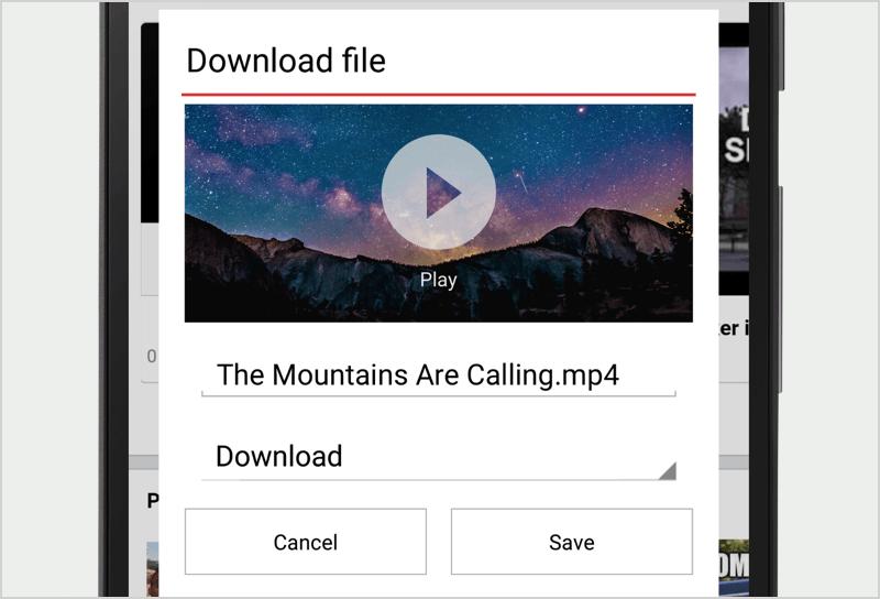 Videos herunterladen und Datenvolumen einsparen