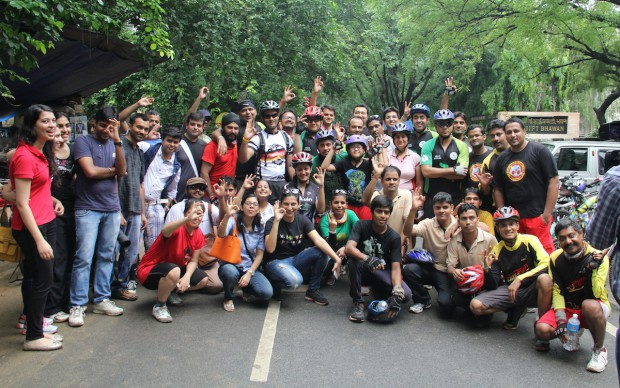 Cyclothon group picture