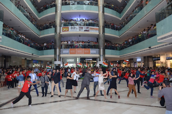 Opera CEO and other employees joined the dancers to celebrate
