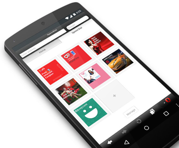Free internet for Robi users with Opera Mini