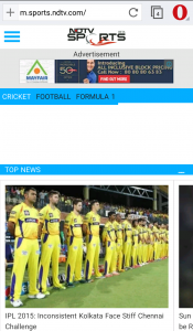 NDTV sports