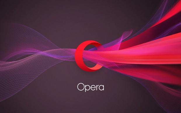 Opera's new logo
