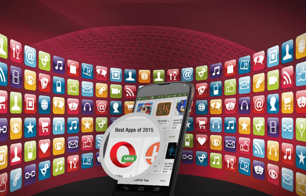 Opera Mini Google Play Best apps of 2015