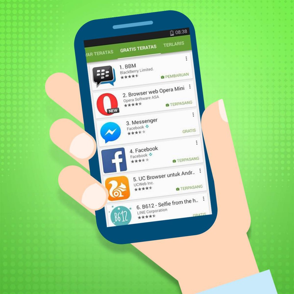 Top Apps - ID