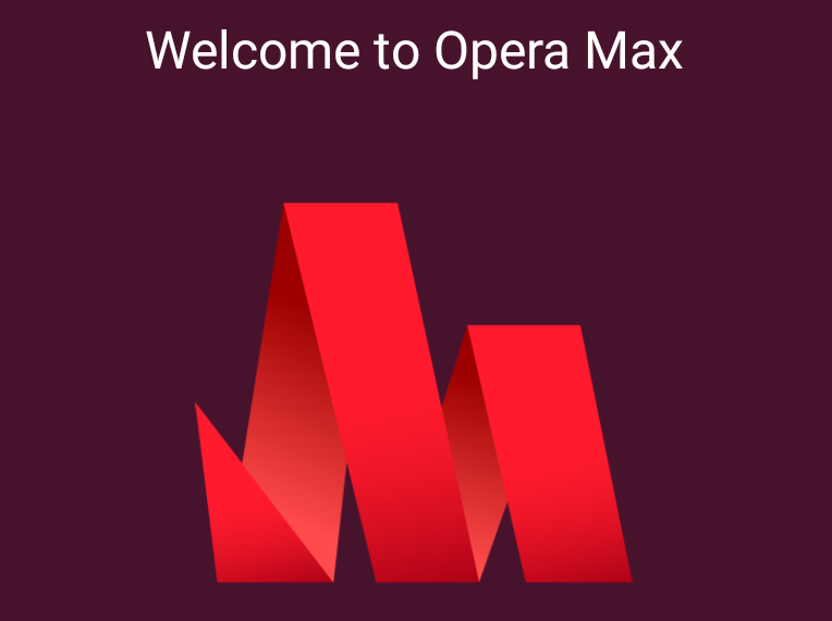 New Opera Max logo