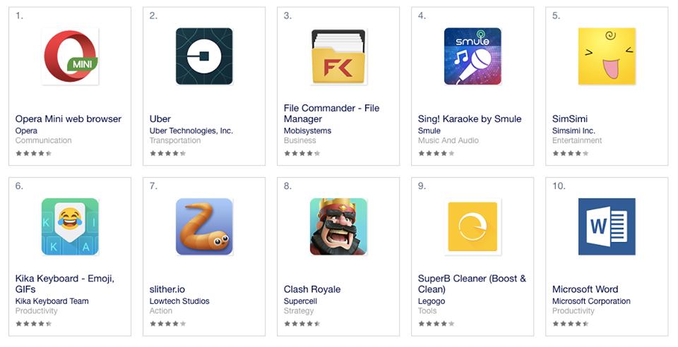 imagen: mejores aplicaciones para Android