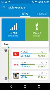 opera max_save mobile data_youtube
