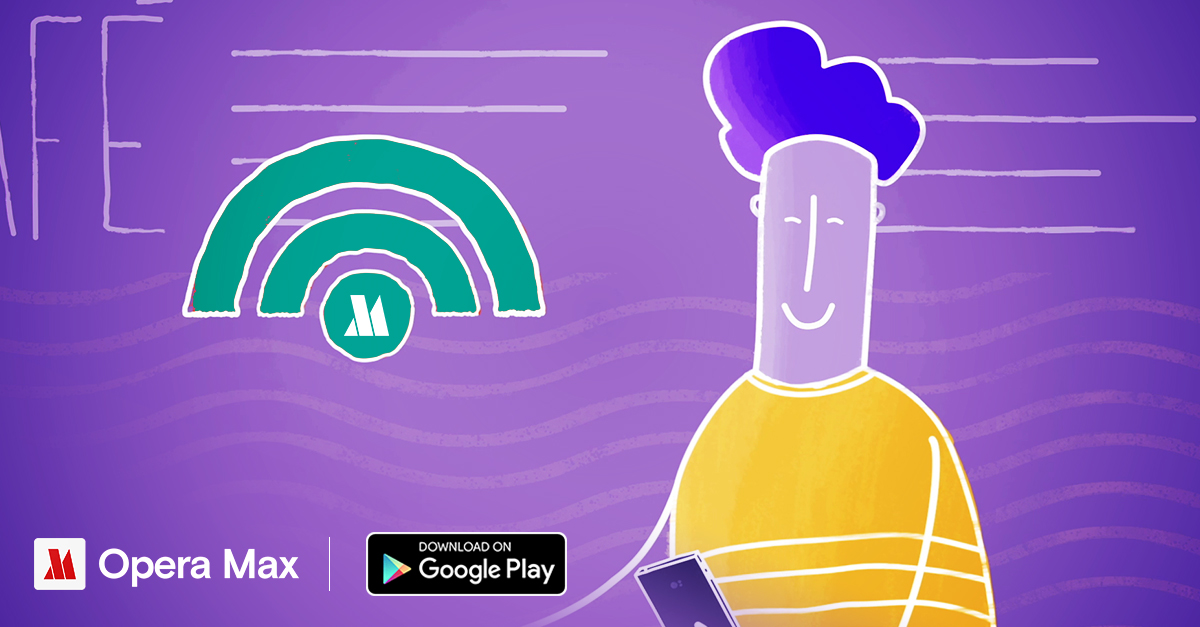 Opera Max Free WiFi Security Speed Android