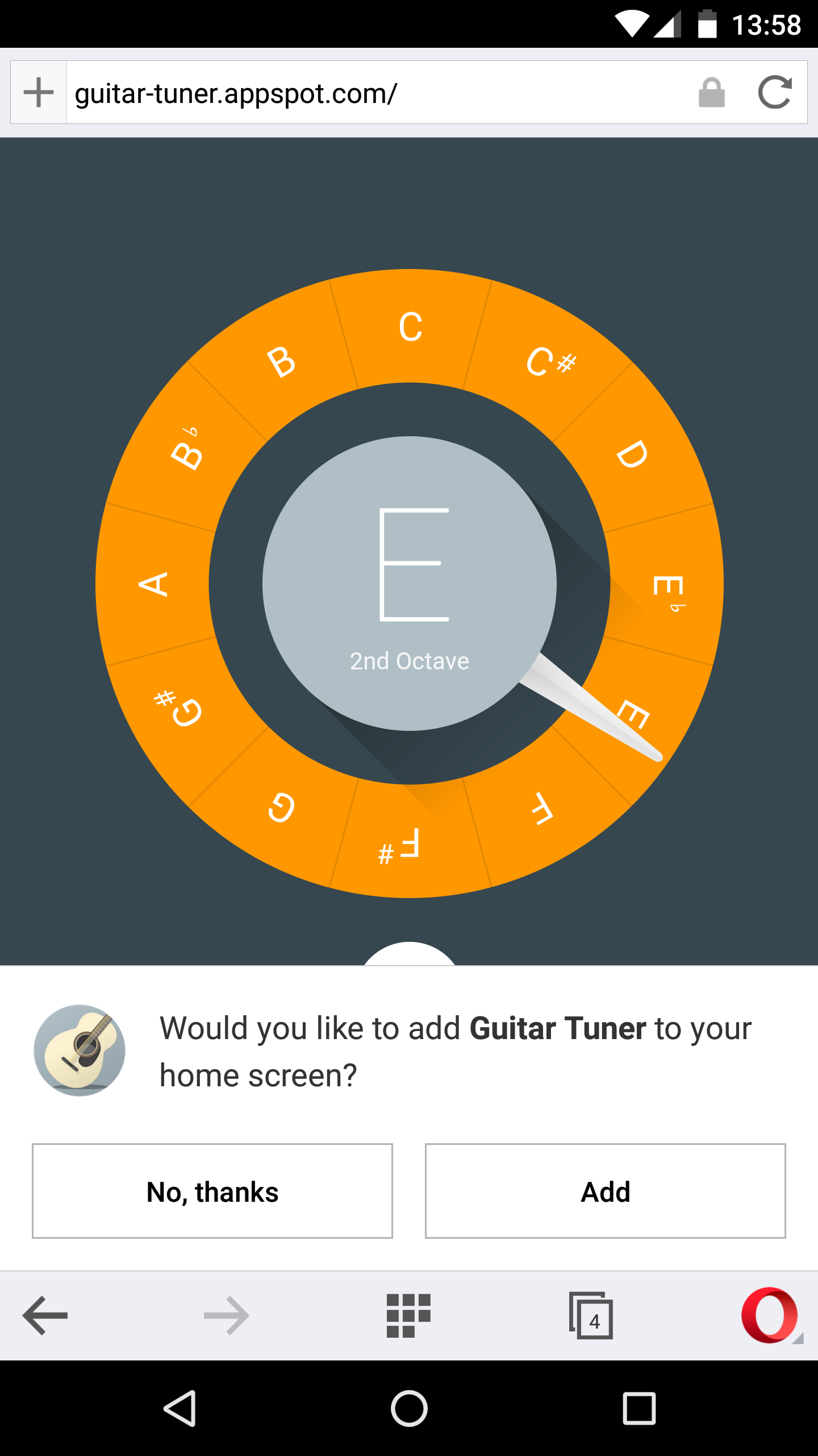 Opera for Android mobile browser add to home screen app fast secure