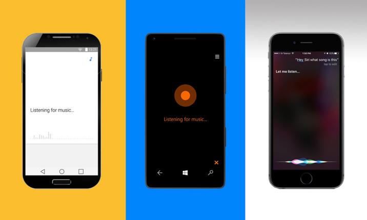 What song is this? Ok Google, Siri, Cortana