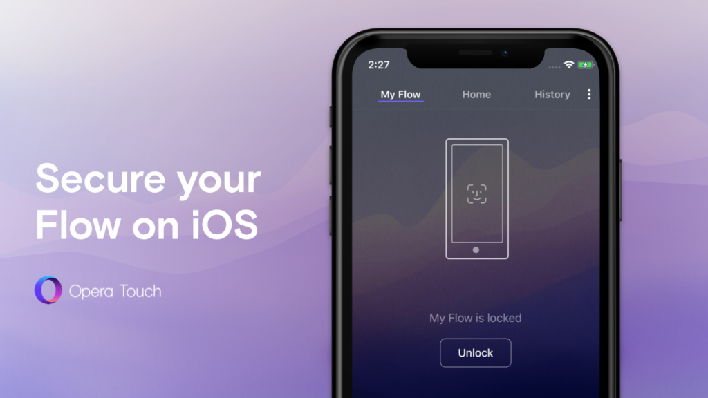 Opera Touch now lets you protect your Flow on iOS
