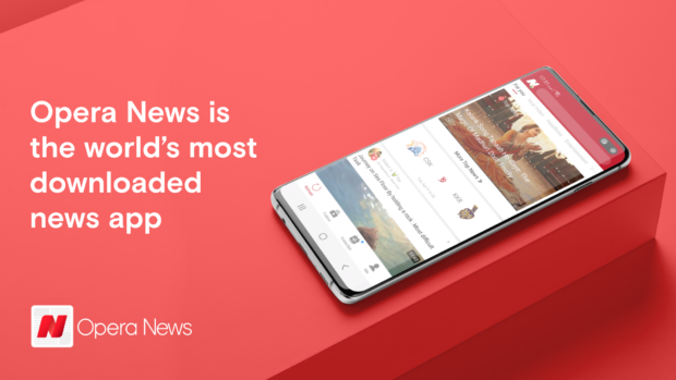 Opera News is now the most downloaded news app in the world
