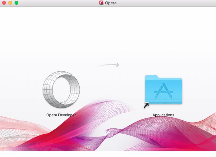 Opera developer on Mac