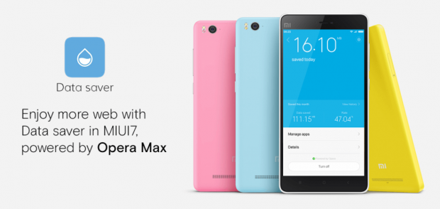 Powered by Opera Max