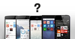 Thumbnail for 'どのモバイルブラウザを使うべきか'