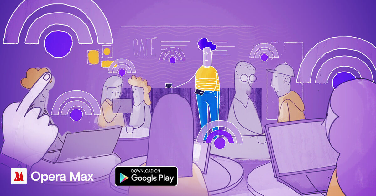 Thumbnail for 'Opera Max を使って公共 Wi-Fi でも安全に'