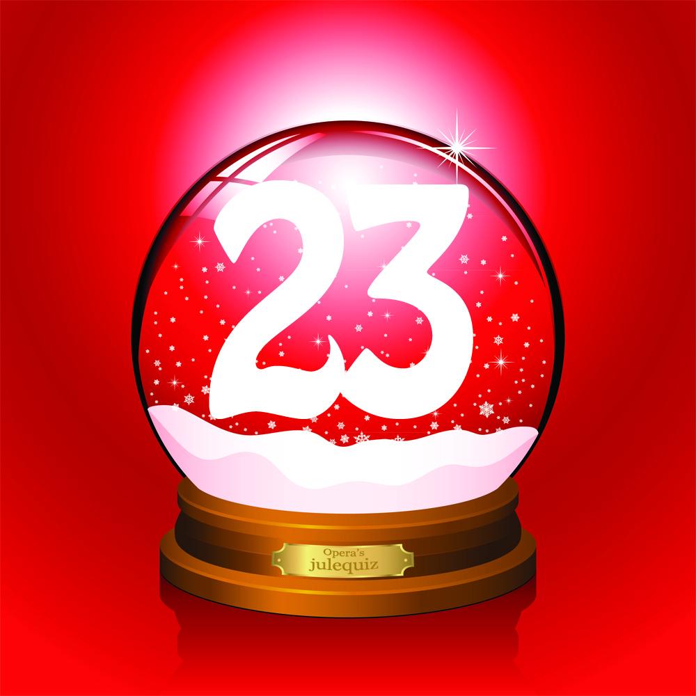 Opera's Julequiz - December 23 - Opera News on