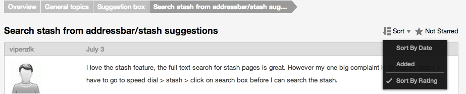 sort-thread-opera-forums