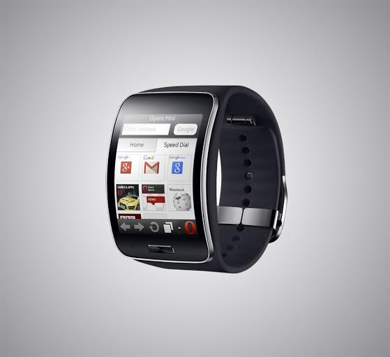 Opera Mini web browser powers Samsung Gear S