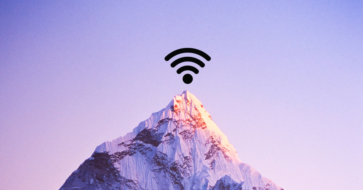 Wi-Fi zones in unexpected places