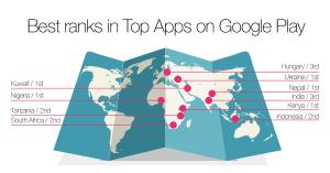 Thumbnail for 'New Opera Mini tops Google Play charts worldwide!'