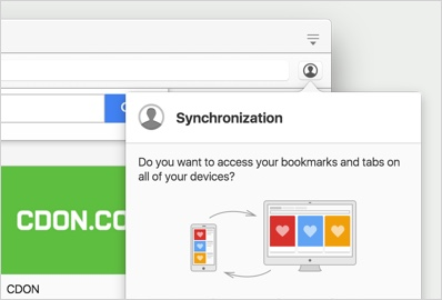 Image: sync bookmarks