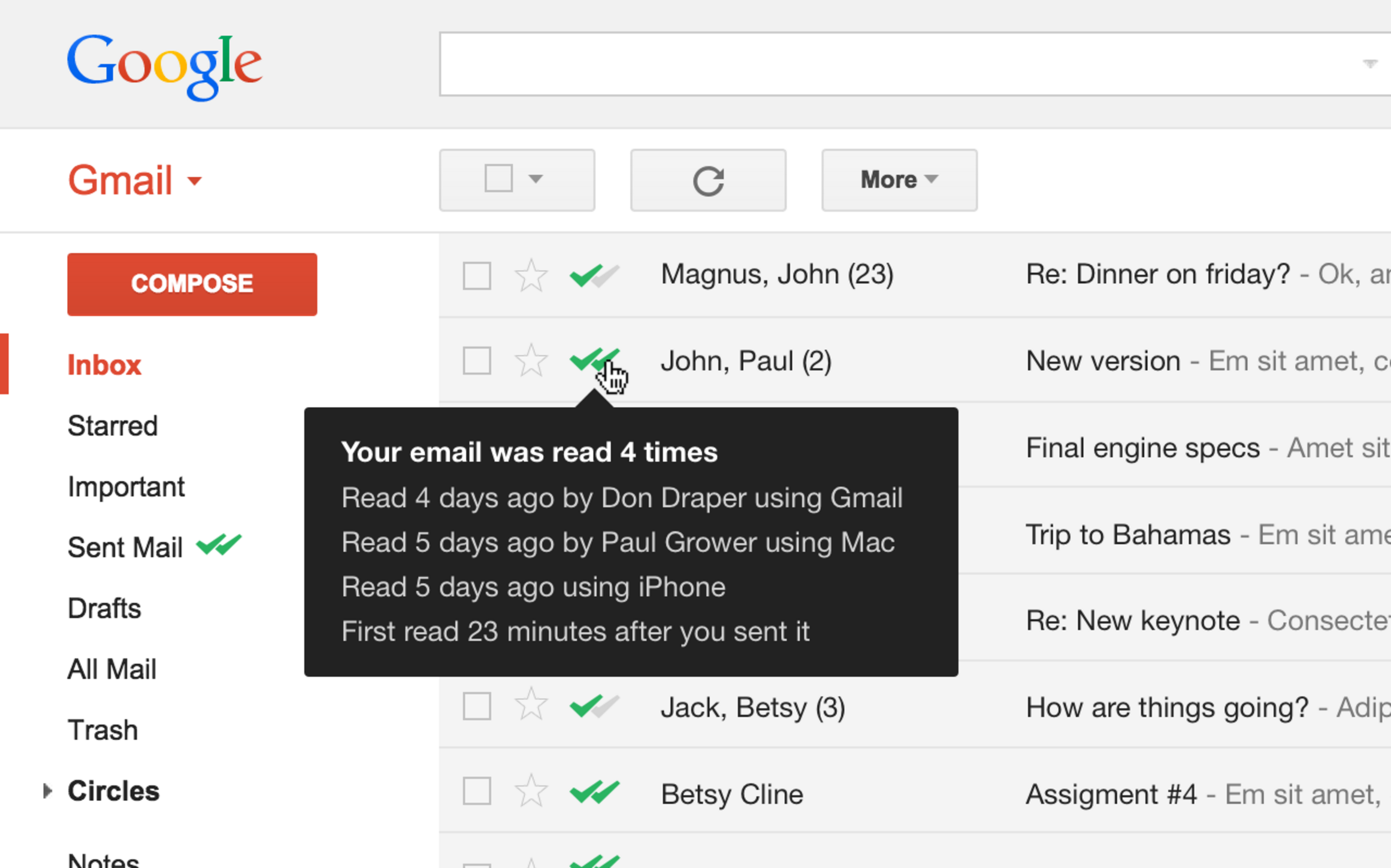 Thumbnail for 'Email tracking is easy with this Gmail extension for Opera'