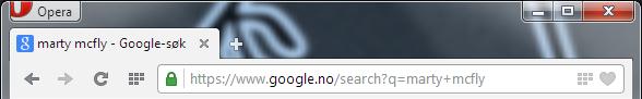 Opera 21 Full URL