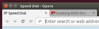 Sound notification on tabs