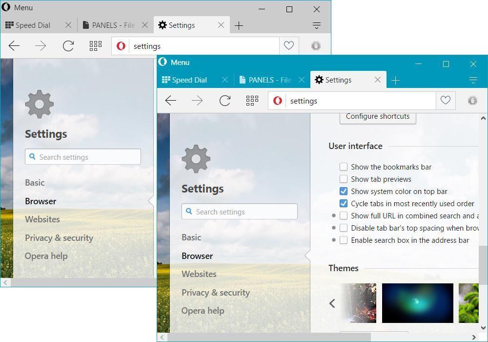 opera mini web browser for windows 7