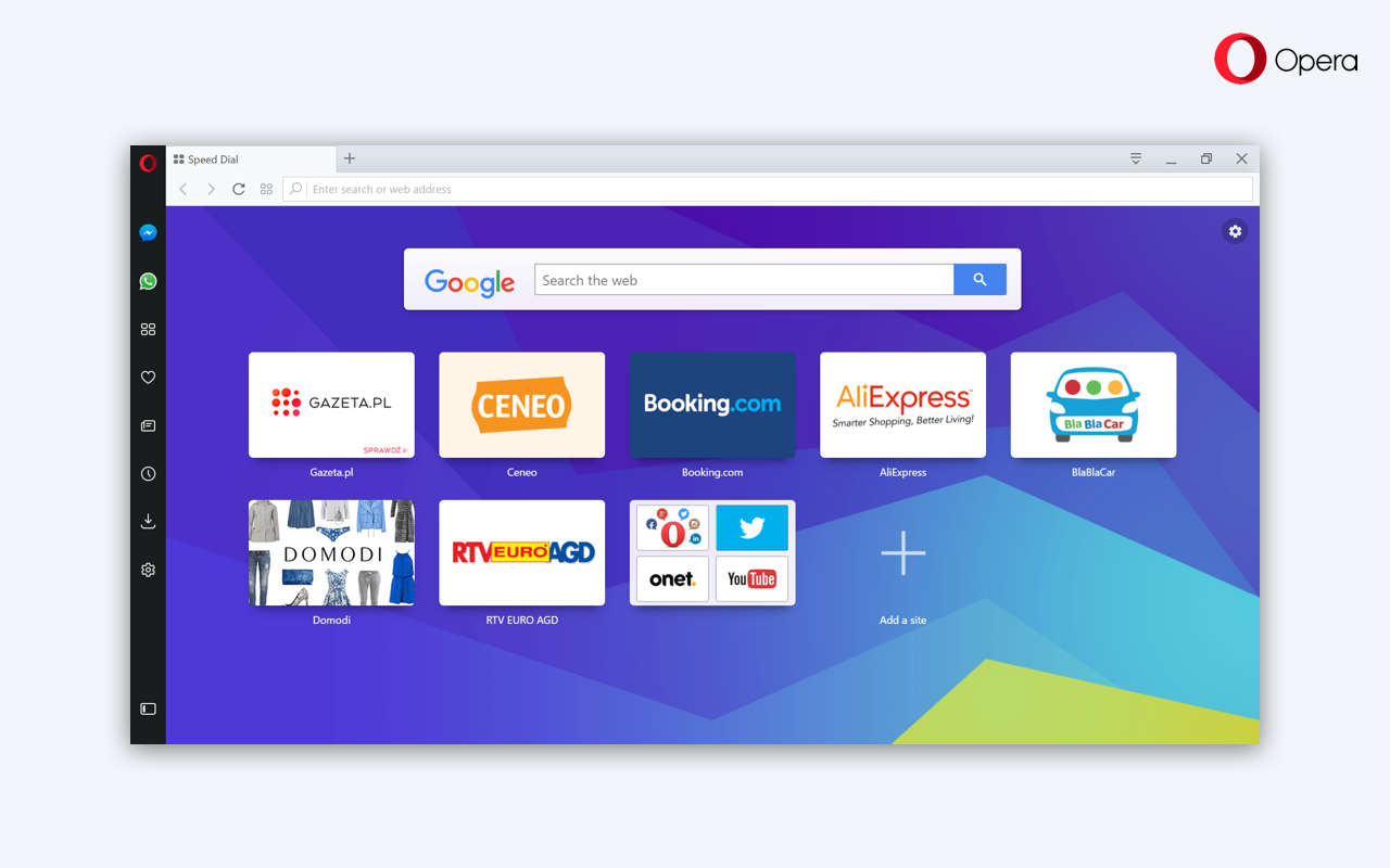 Google themes opera - Read On And Enjoy One Of The Longest List Of Changes In The Opera S Beta Channel History