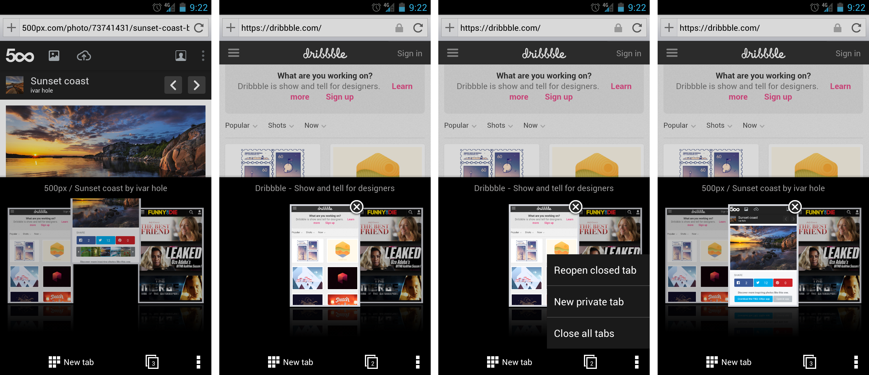 Opera Browser For Android Managing Your Tabs Is Just A Tap Away
