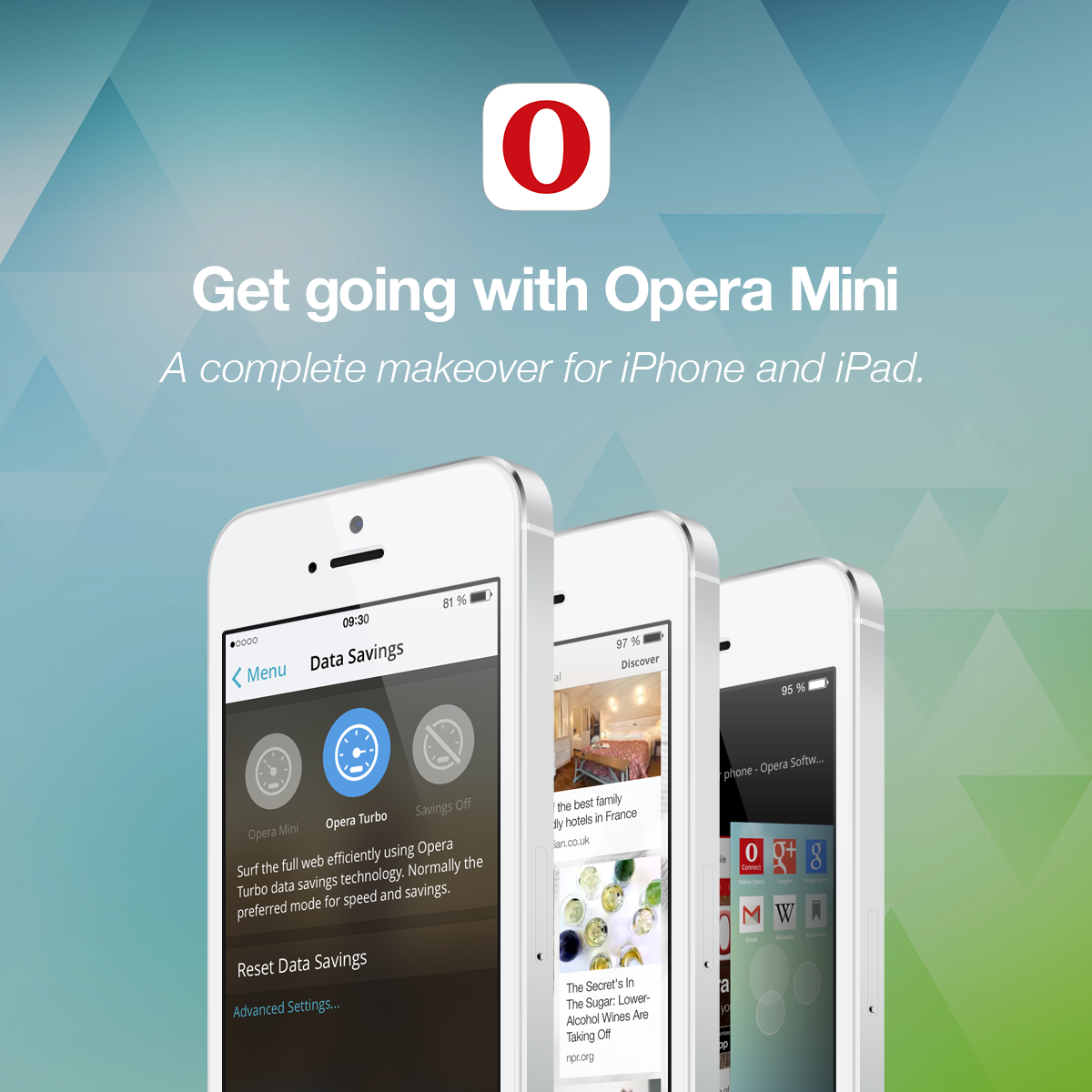 Opera Mini App for iPhone, iPad, and Mac Devices