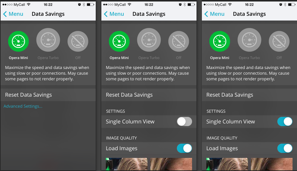 how-to-activate-single-column-view-opera-mini-for-ios