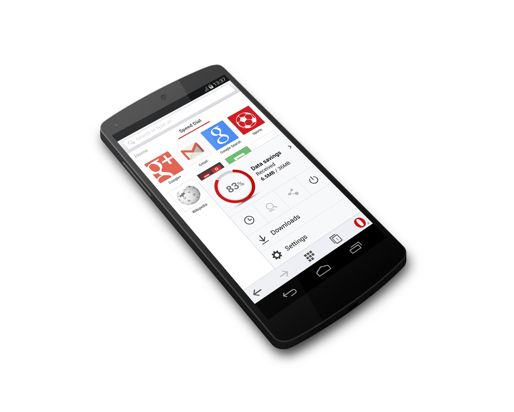 opera mini for android beta runs on android 2 3 and higher