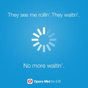 Opera Mini for iOS reduces video buffering