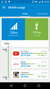 opera max_save mobile data_youtube