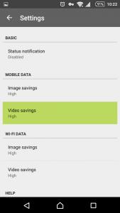 opera max_save mobile data_video savings_ youtube