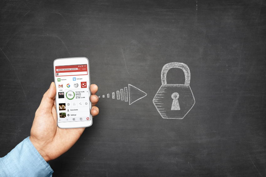Opera Mini takes care of your security