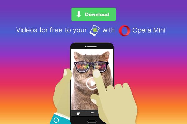 image: opera mini mobile video download