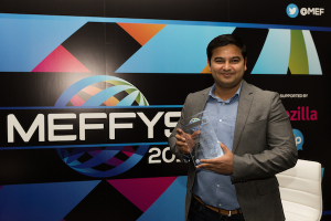 Thumbnail for 'Opera Max wins prestigious Meffys Award for 'Innovation in Mobile First Markets''