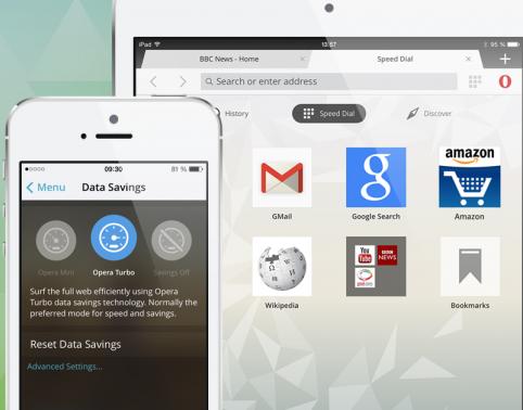 Opera Mini for iOS