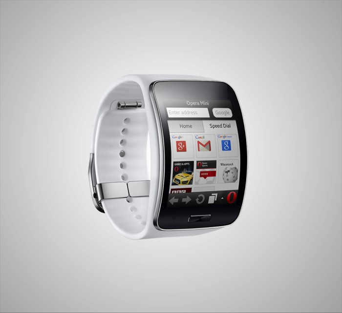 Opera Mini is the first web browser to power Samsung's Gear S smartwatch