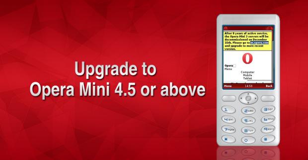 Upgrade your Opera Mini