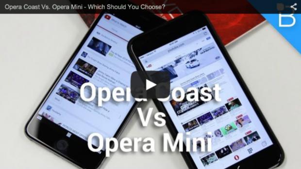 Opera Coast vs Opera Mini